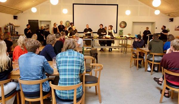Mindre madspild skaber mere økologi på Danmarks største efterskole